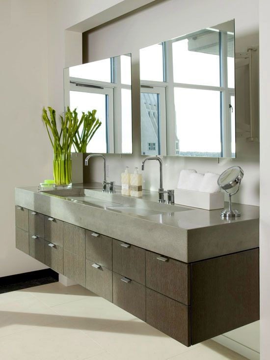 Double Bathroom Vanity Designs | BathsILove | Pinterest | Bathroom