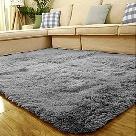 Amazon.com: ACTCUT Super Soft Indoor Modern Shag Area Silky Smooth