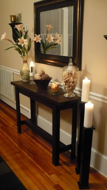 Foyer Table And Mirror Set - Ideas on Foter