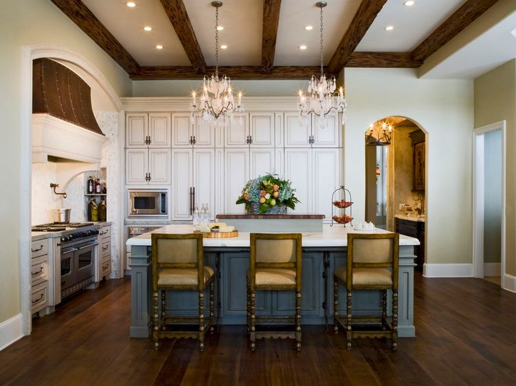 French Country Kitchen Styling for   Cooking French Cuisines