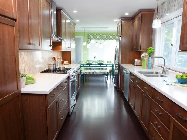Galley Kitchen Designs | HGTV