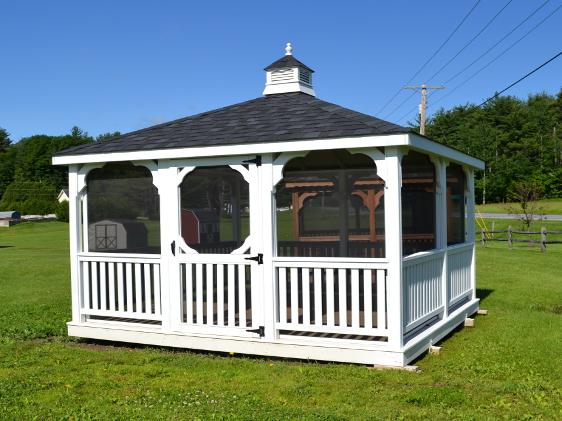 Gazebo, Square Timber Ridge 12' x 12' for Sale - Livingston Farm