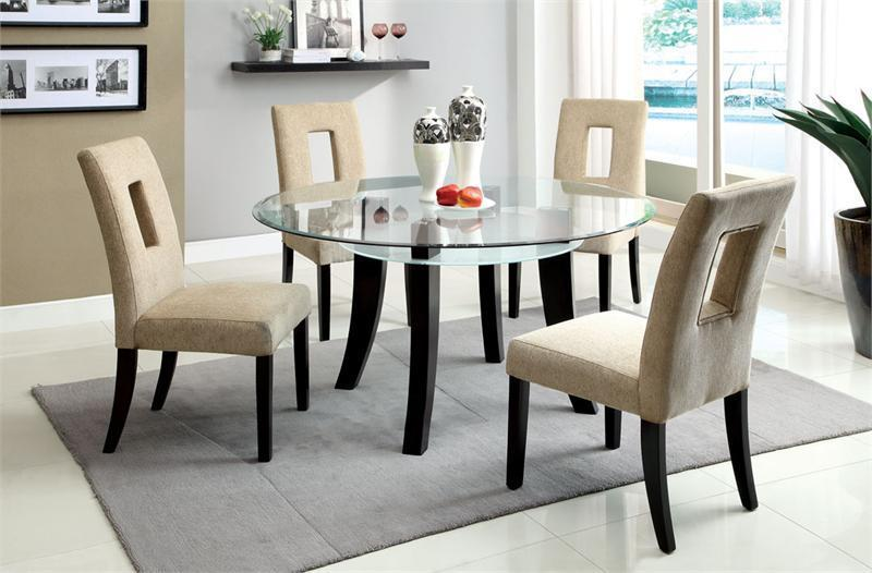 Dining Tables: stunning 42 inch round glass dining table 42 Inch
