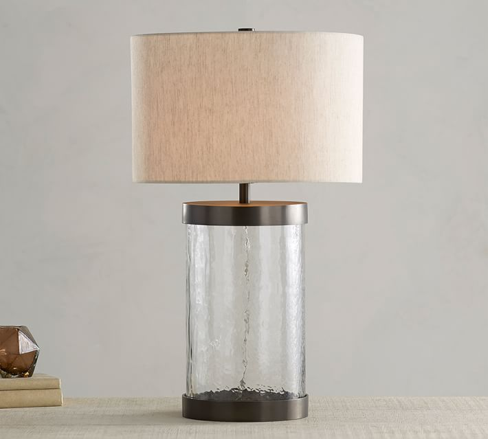 Glass Table Lamps Illuminate Your Room   with Classy Style