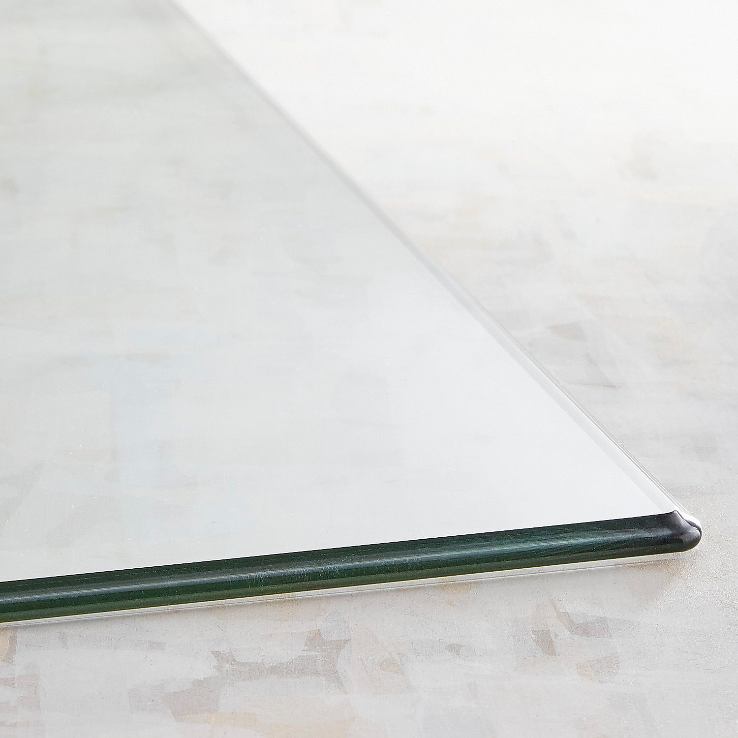 Rectangle Tempered Glass Table Top | Pier 1