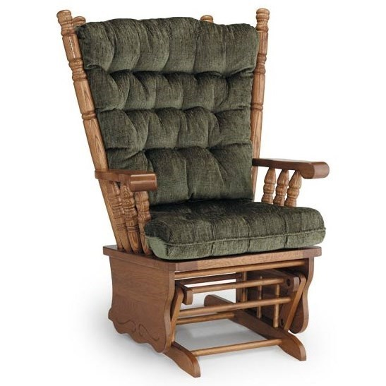 Best Home Furnishings Glider Rockers Giselle Glider Rocker | Lindy's