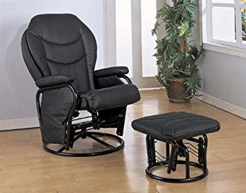 Amazon.com: Coaster Home Furnishings Black Leatherette Cushion