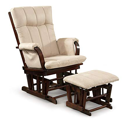 Glider Rocker Chair for Extra Comfort and   Rest
