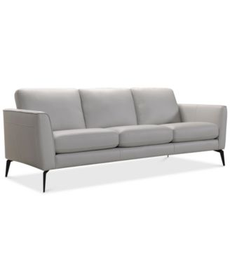 Gray Leather Sofa – A Timeless Choice for   Your Modern Living Room