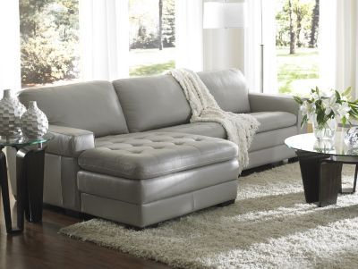 I would love to design around this sofa..Grey is suppose to be the