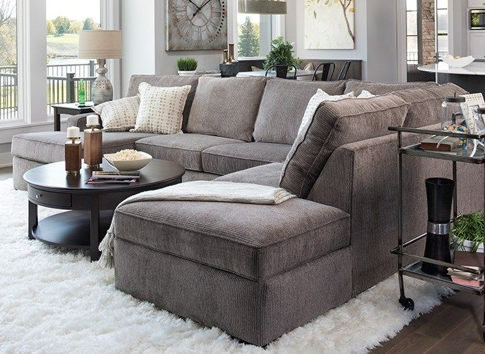 How To Choose the Perfect Sectional for Your Space | Living Rooms