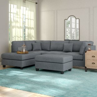 Gray Sectional Sofa For Chic And Modern Living Room Design