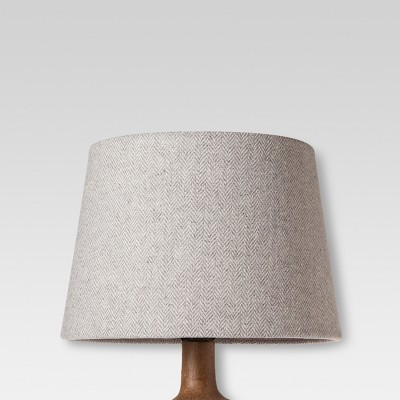 Small Gray Herringbone Lamp Shade - Threshold™ : Target
