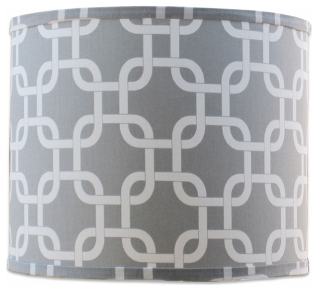 Small Links Grey Shade - Contemporary - Lamp Shades - by Doodlefish