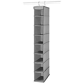 Amazon.com: Whitmor Hanging Shoe Shelves - 8 Section - Closet
