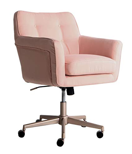 Amazon.com: Serta Style Ashland Home Office Chair, Party Blush Pink