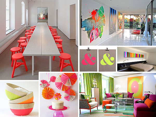 More Neon Interior Design Ideas for a Radiant Home