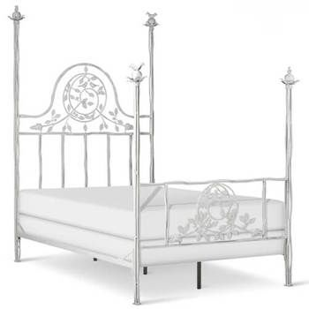 Beach Themed Wrought Iron Beds for Sale - Cottage & Bungalow