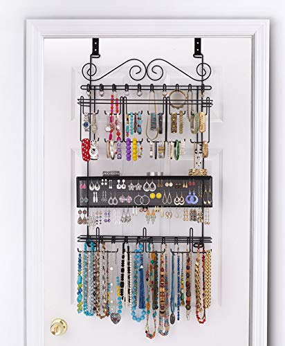Jewelry Organizer with Doors for Better   Protection of Your Trinkets