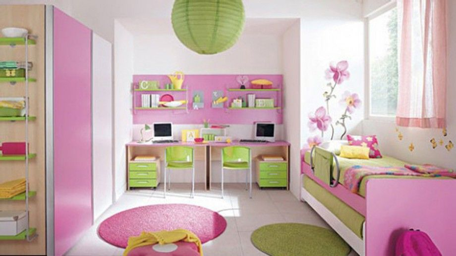 girly kids room decor ideas | Kids Spaces | Pinterest | Girls