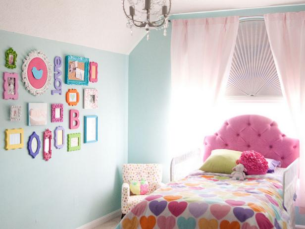 Kids Bedroom Decor and Color Theme