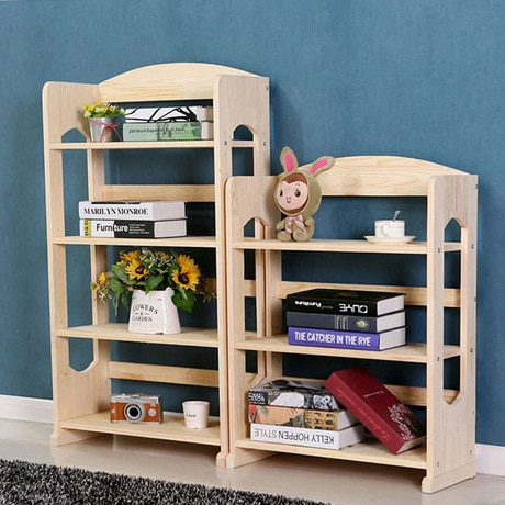 Bookcases Living Room Furniture Home Furniture Pine Solid wood kids