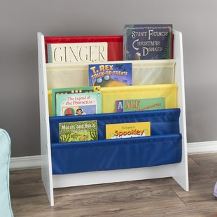 Kids Bookshelf for Easy Book Handling