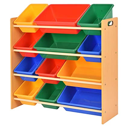 Amazon.com: Giantex Toy Bin Organizer Kids Childrens Storage Box