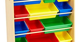 Amazon.com: AmazonBasics Kids' Toy Storage Organizer - Natural