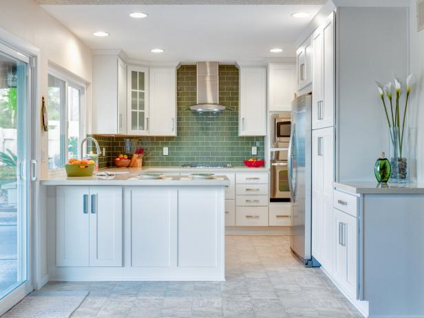 Backsplashes for Small Kitchens: Pictures & Ideas From HGTV | HGTV