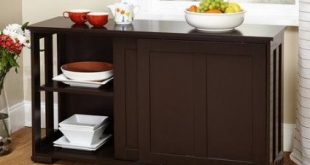 Amazon.com: Simple Living Sliding Door Stackable Espresso Cabinet