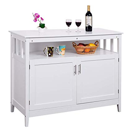 Amazon.com - Costzon Kitchen Storage Sideboard Dining Buffet Server