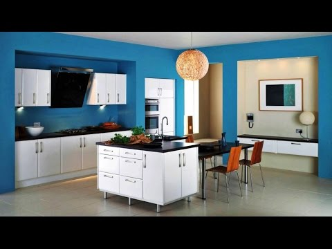 Beautiful paint colors for kitchen wall - YouTube