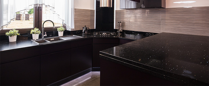 4 Top Tips On Caring For Your Black Kitchen Worktops | Savoy Timber