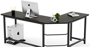 Amazon.com : Tribesigns Modern L-Shaped Desk Corner Computer Desk PC