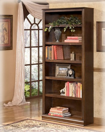 Amazon.com: Ashley H527-17 Hamlyn Large Large Brown Bookcase