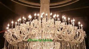 Large Crystal Chandelier Chrome Extra Large Chandelier For Hotel