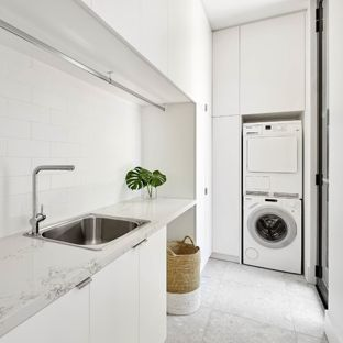 75 Most Popular Modern Laundry Room Design Ideas for 2019 - Stylish