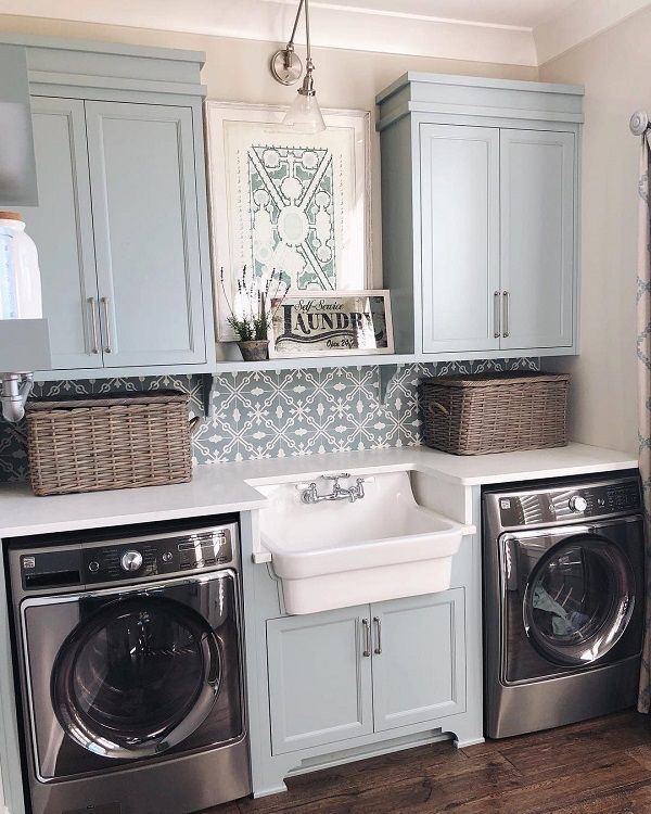 60 Fabulous Laundry Room Decor Ideas You Can Copy | Laundry rooms