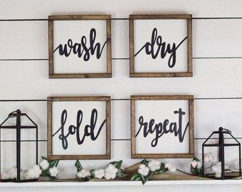 Laundry Room Decor and Design Ideas