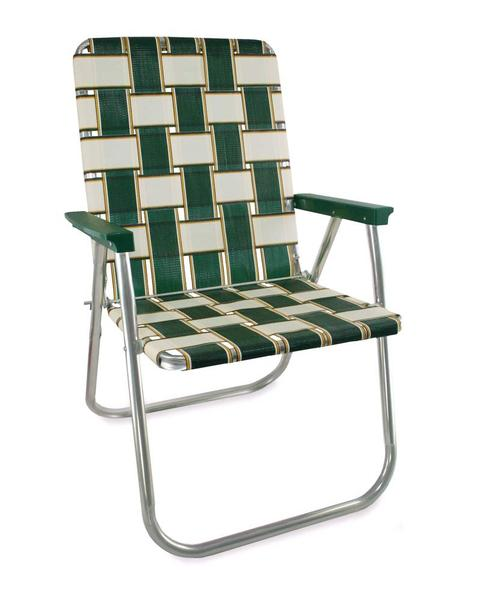 Lawn Chair USA - Charleston Webbed Folding Aluminum Chair