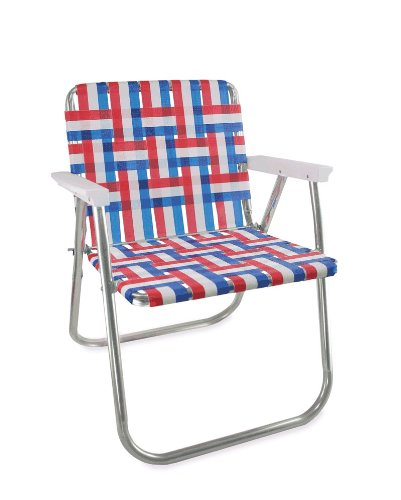 Amazon.com : Lawn Chair USA Aluminum Webbed Chair (Picnic Chair, Old