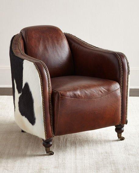 Regina Andrew Design Ramona Leather Club Chair