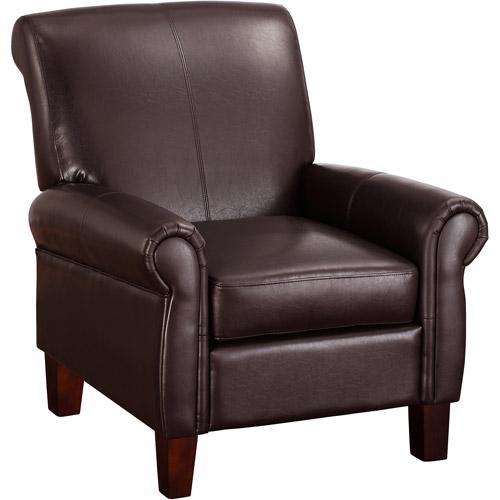 Dorel Living Faux Leather Club Chair, Multiple Colors - Walmart.com
