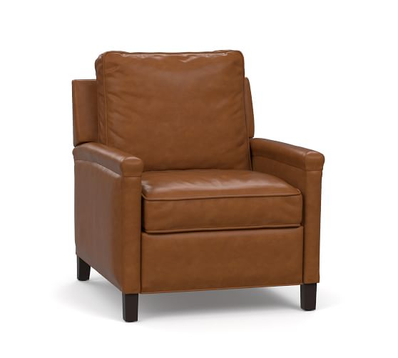 Leather Recliner Chair for Added Comfort   in the Living Room