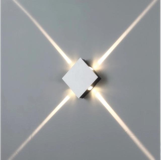 4 Narrow Beam Spot Lights Led Wall Lighting Effect Light Rectangle
