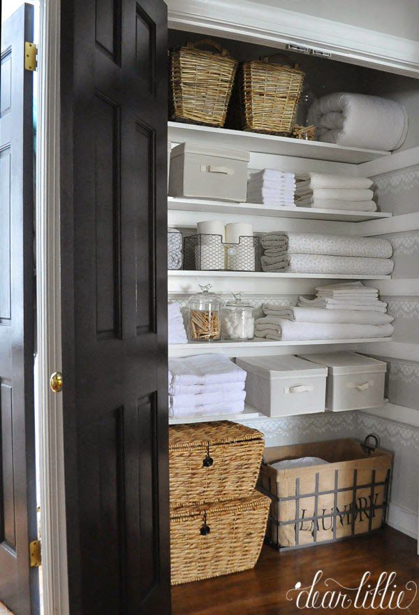 Linen Closet Organization Ideas - How to Organize Your Linen Closet