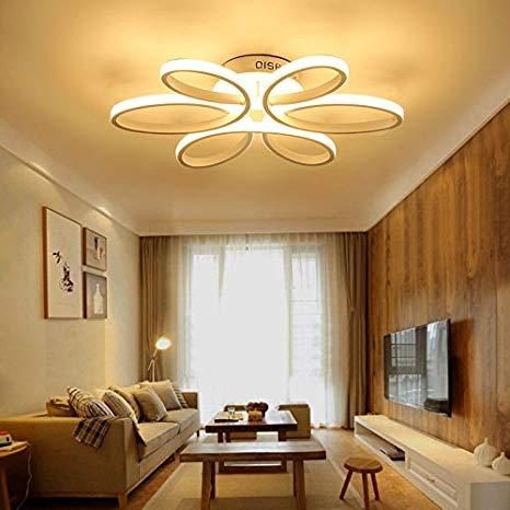 HOUDES Modern Led Chandelier Lighting Ceiling Light Fixture Hanging
