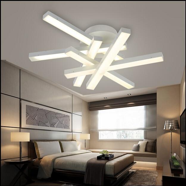 Modern led ceiling lamps LED lamps white light / warm light living