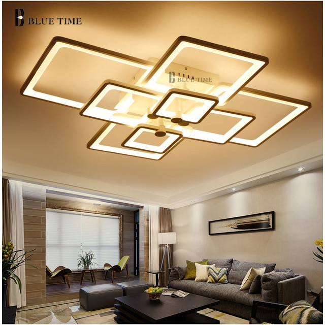 Dimming and Remote Modern Ceiling Lights led For Living Room Bedroom